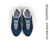 pair of sport trainers isolated ... | Shutterstock . vector #522090928