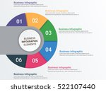 infographic elements   objects... | Shutterstock .eps vector #522107440