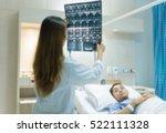 blurred doctors taking care of... | Shutterstock . vector #522111328