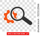 seo tools eps vector icon.... | Shutterstock .eps vector #522112066