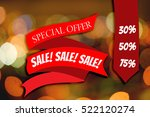special offer  sale  sale  sale ... | Shutterstock . vector #522120274