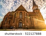 beautiful church with a... | Shutterstock . vector #522127888