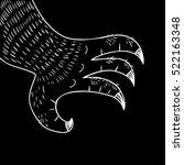 black claw   Shutterstock .eps vector #522163348