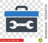 toolbox eps vector icon.... | Shutterstock .eps vector #522163714