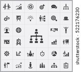 people structure icon. business ... | Shutterstock .eps vector #522176230