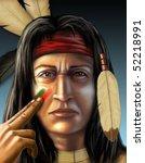American Indian Warrior...