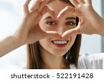 healthy eyes and vision.... | Shutterstock . vector #522191428