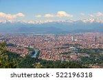 turin  torino   aerial panorama ... | Shutterstock . vector #522196318