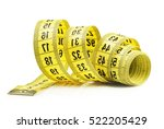 measuring tape of the tailor...   Shutterstock . vector #522205429