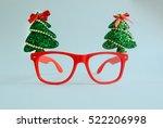 christmas glasses that... | Shutterstock . vector #522206998