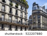 view of buildings in france... | Shutterstock . vector #522207880