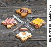 realistic vector illustration... | Shutterstock .eps vector #522208468