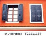 detail of an open wooden iron... | Shutterstock . vector #522211189