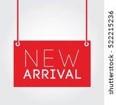 new arrival | Shutterstock .eps vector #522215236