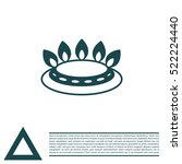 gas burner icon. vector design | Shutterstock .eps vector #522224440