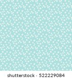 cute floral pattern in the... | Shutterstock .eps vector #522229084