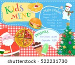 christmas and new year kids...   Shutterstock .eps vector #522231730