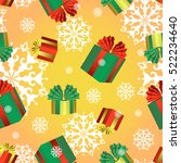 vector seamless pattern with... | Shutterstock .eps vector #522234640