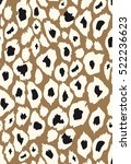 Vector Leopard Texture Of...