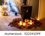 beautiful stylish autumn... | Shutterstock . vector #522241099