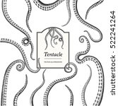 tentacle illustrations | Shutterstock .eps vector #522241264