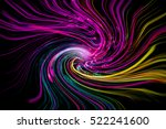 abstract psychedelic...   Shutterstock . vector #522241600