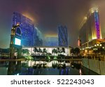 city of dreams and canal of... | Shutterstock . vector #522243043