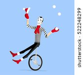 Winter Mime Performing A...