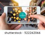 data management platform  dmp   ... | Shutterstock . vector #522262066