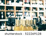 View On Wine Shop Shelves With...