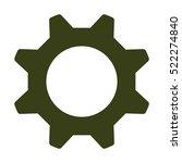 gear icon | Shutterstock .eps vector #522274840