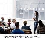 business development innovation ...   Shutterstock . vector #522287980