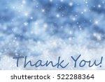 blue sparkling christmas... | Shutterstock . vector #522288364