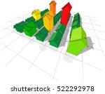 3d illustration of field of... | Shutterstock .eps vector #522292978