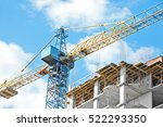 Building Crane And Building...