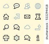 Web   Internet Icons Set
