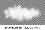 realistic cloud on transparent... | Shutterstock .eps vector #522297448