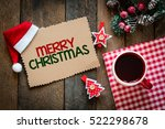 merry christmas christmas... | Shutterstock . vector #522298678