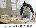 design studio architect...   Shutterstock . vector #522311860