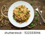 homemade traditional italian...   Shutterstock . vector #522333046
