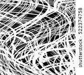 scratched grid. eps10 vector. | Shutterstock .eps vector #522374758