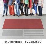 layout arrangement creative...   Shutterstock . vector #522383680