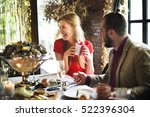 restaurant chilling out classy... | Shutterstock . vector #522396304