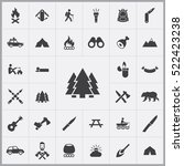forest icon. camping icons...   Shutterstock .eps vector #522423238