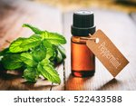 Peppermint essential oil and...