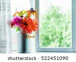 autumn bouquet | Shutterstock . vector #522451090