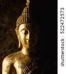 face of buddha.buddha statue... | Shutterstock . vector #522472573