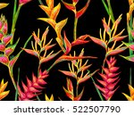 summer jungle pattern with... | Shutterstock .eps vector #522507790