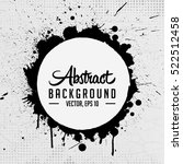 abstract grunge background.... | Shutterstock .eps vector #522512458