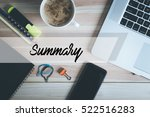 summary concept | Shutterstock . vector #522516283